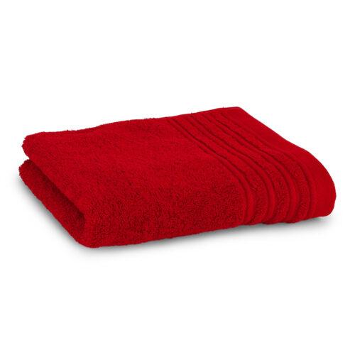 Lisboa håndklæde rød