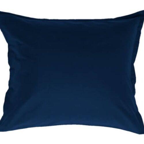 Stout pudebetræk i blå