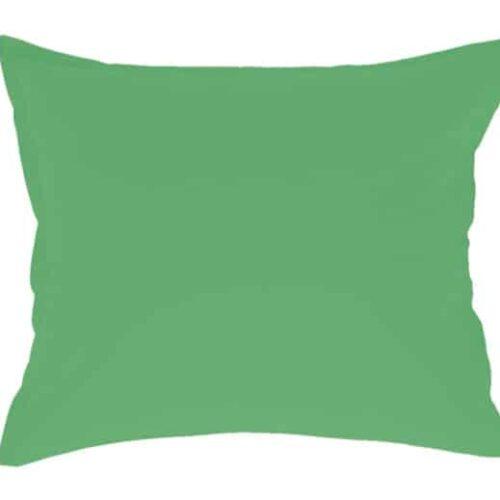 Stout pudebetræk i grøn