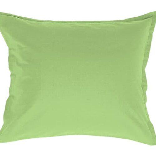 Stout pudebetræk i lys grøn