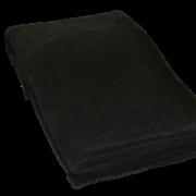 Fleece Plaid i sort