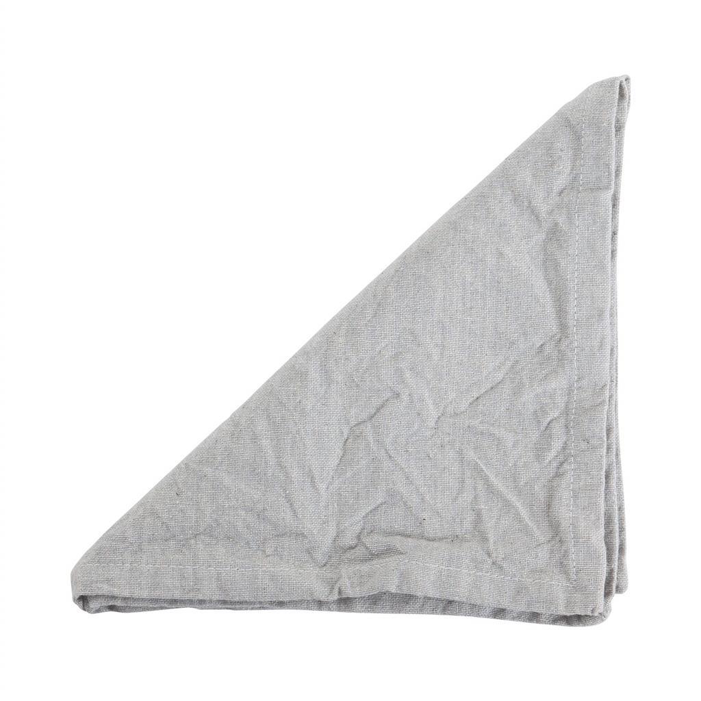 Serviet - Sara Stonewash - Silver grey - 2 stk pr. kolli