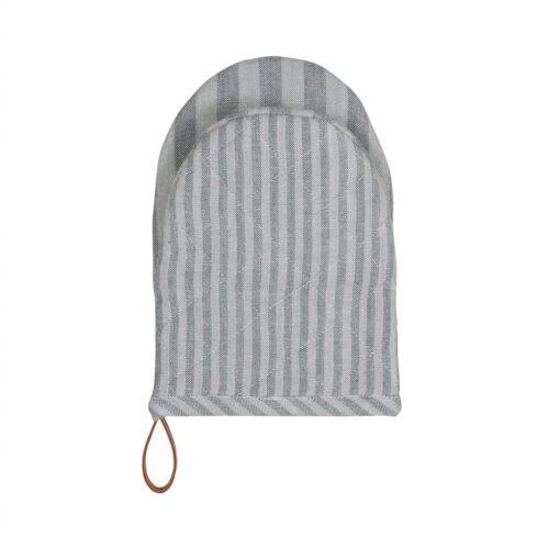 Grillhandske - Medium Fine Stripe - Dark Grey - 2 stk. pr. kolli
