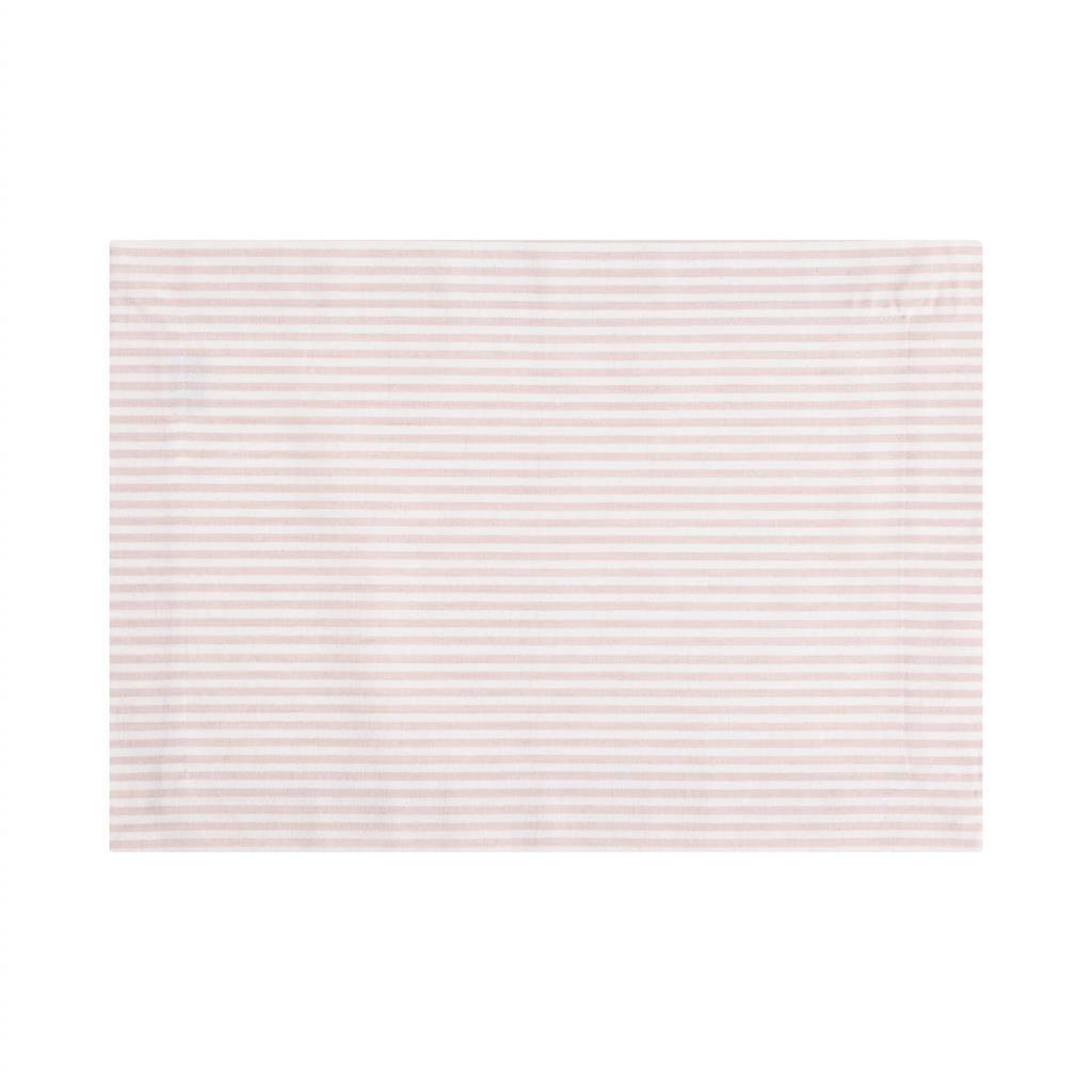 Dækkeserviet - Medium Fine Stripe - Soft Pink