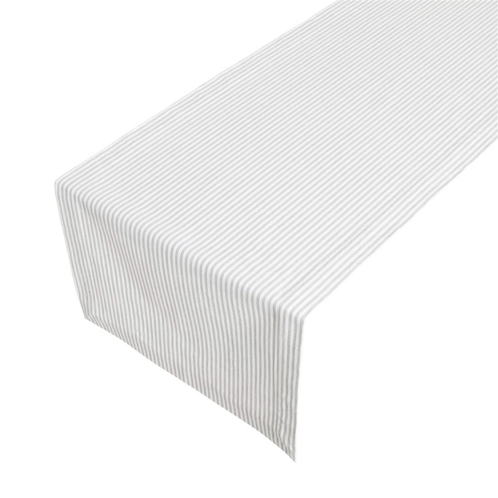 Runner - Medium Fine Stripe - Silver Grey