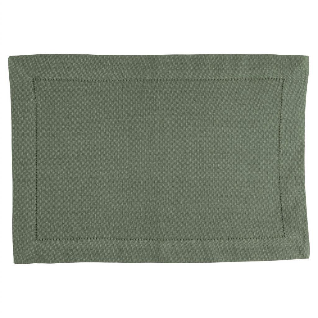 Dækkeserviet - 100% Bomuld - Green