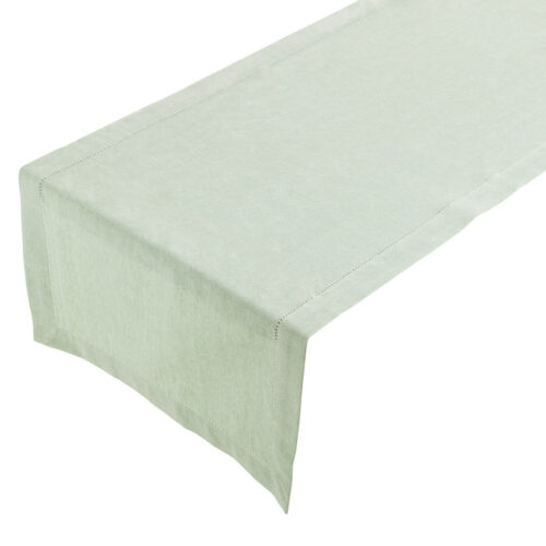 Runner - Linen - Soft Green