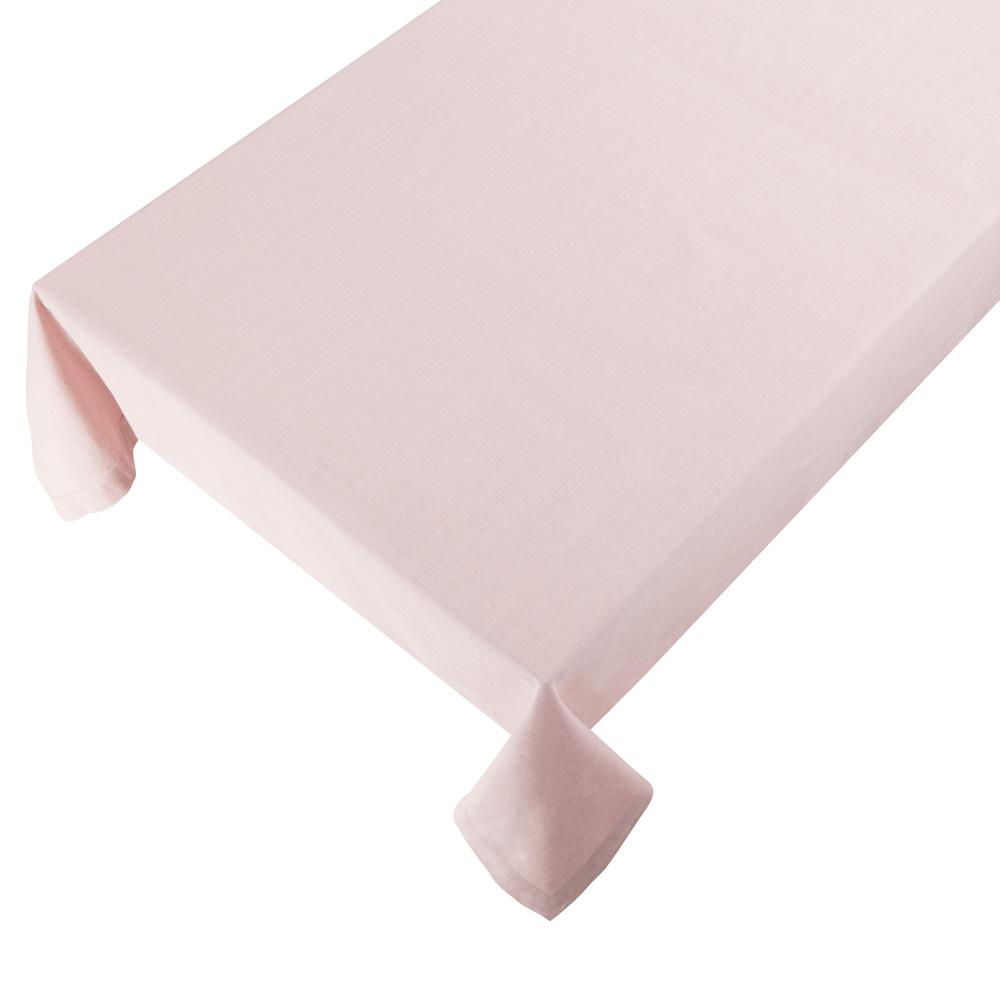 Bomuldsdug - Linen - Soft Pink - 140 x 250 cm