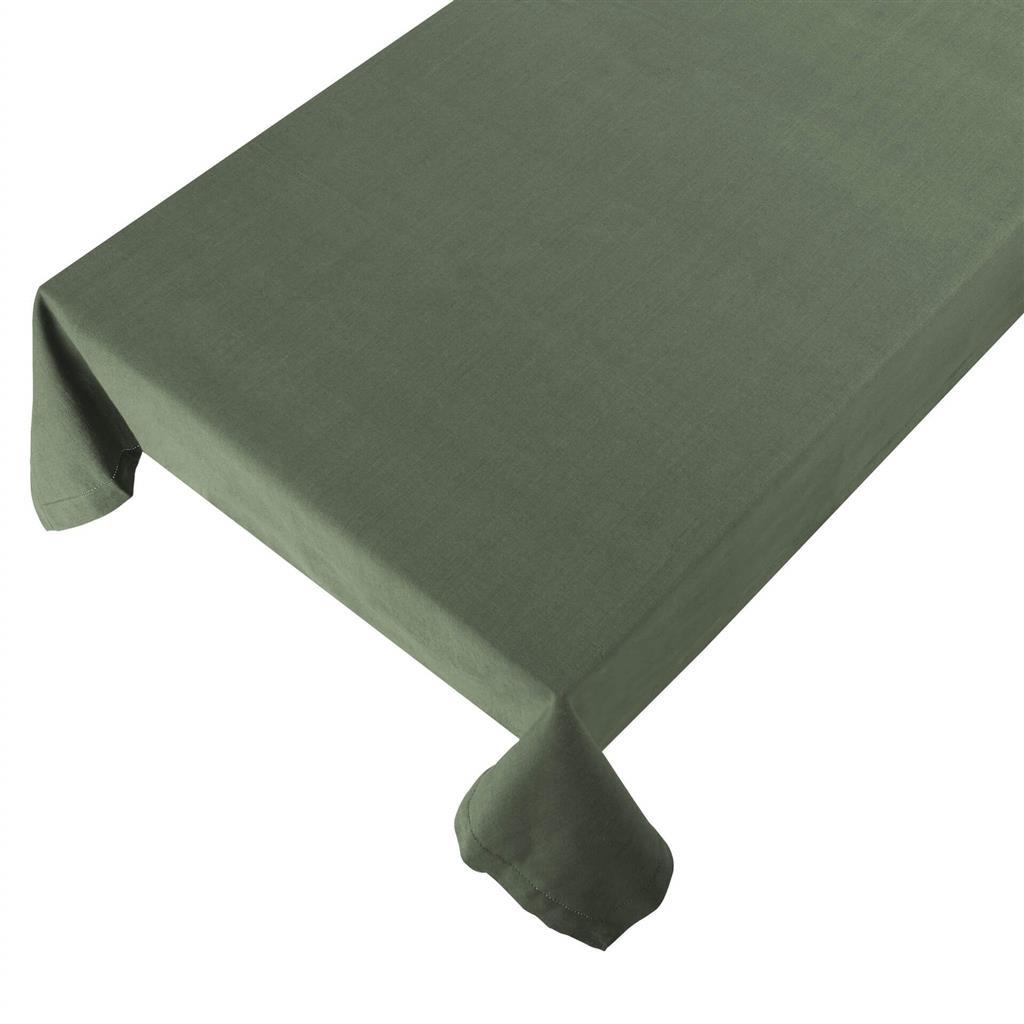 Bomuldsdug - Linen - Green - 140 x 250 cm