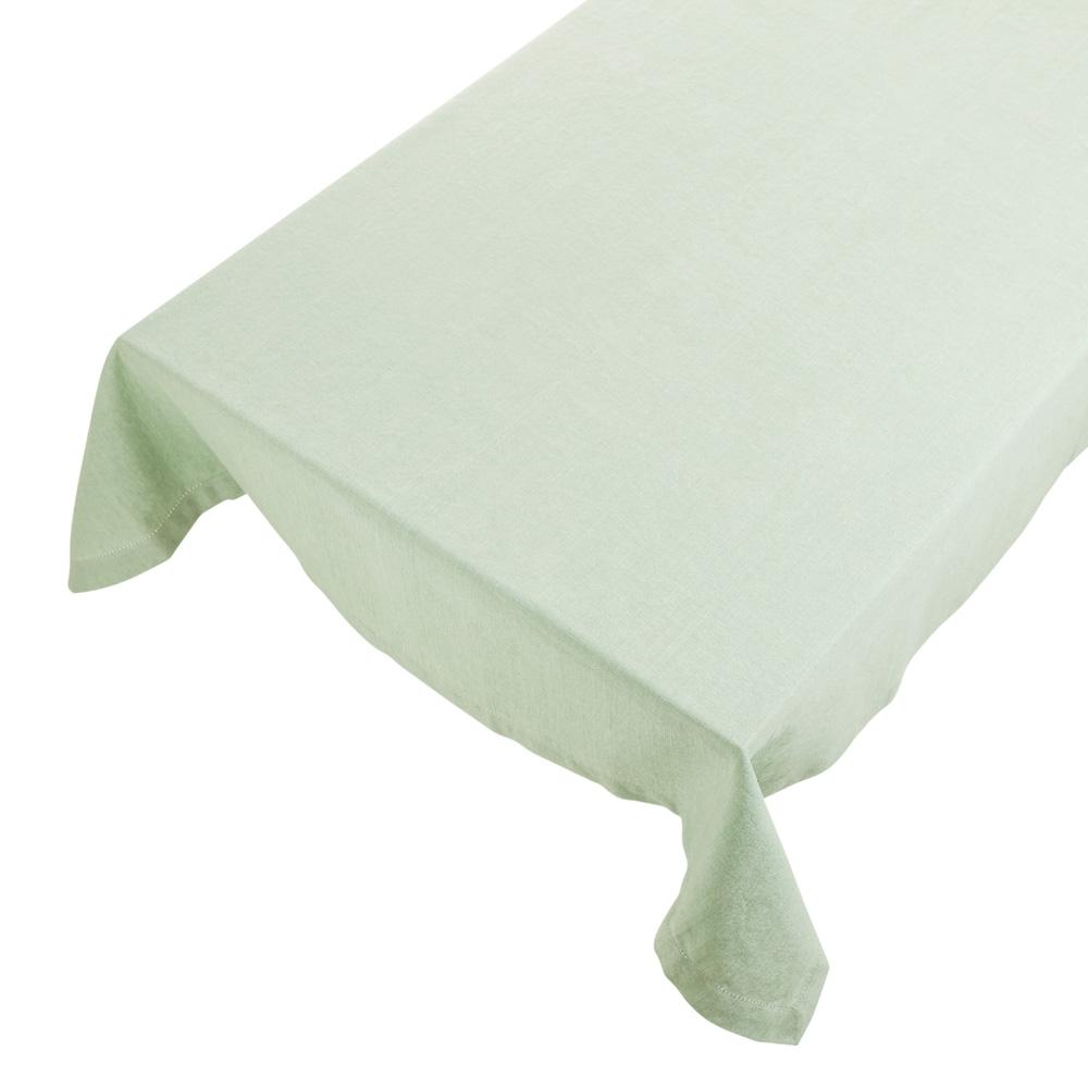 Bomuldsdug - Linen - Soft Green - 140 x 250 cm