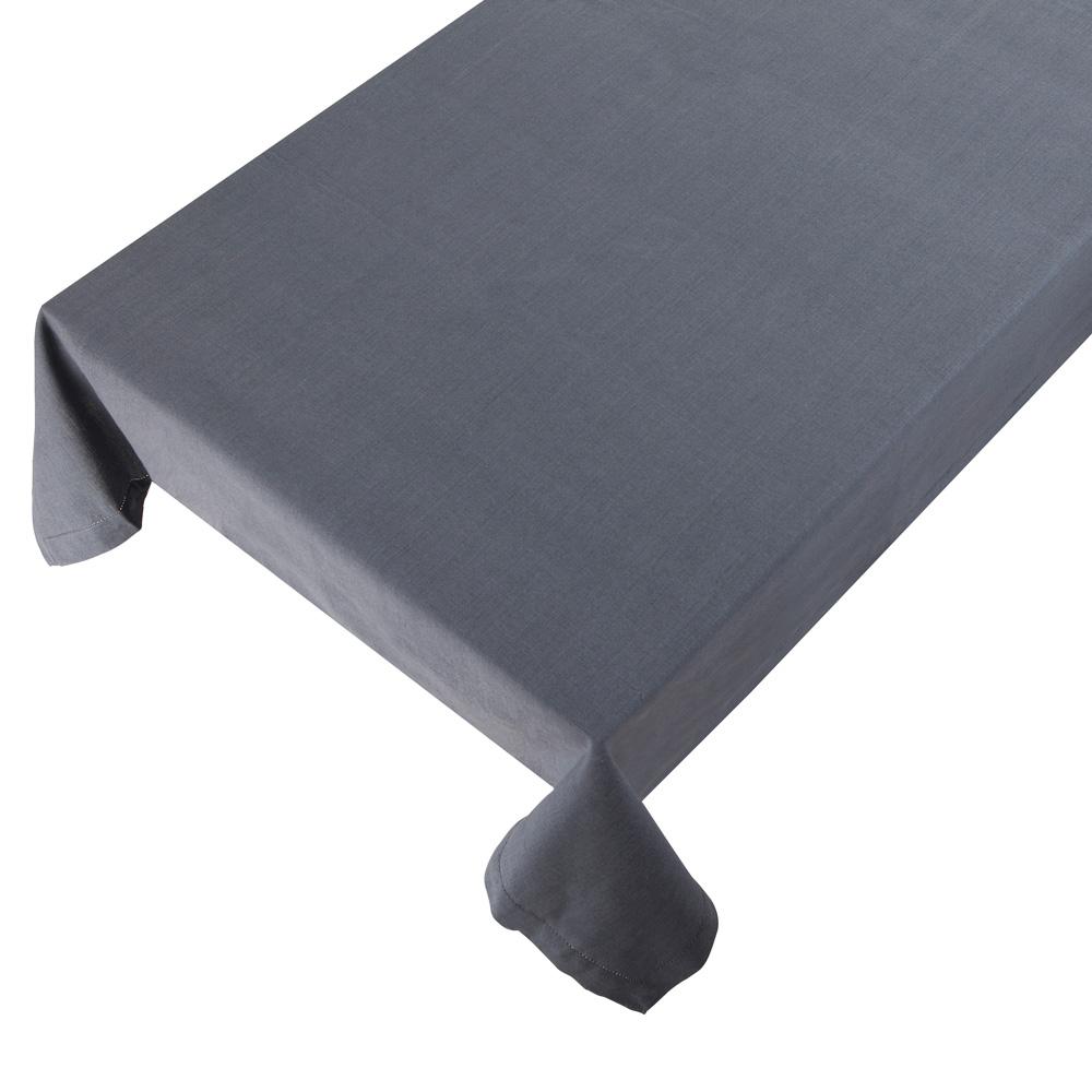 Bomuldsdug - Linen - Grey - 140 x 250 cm