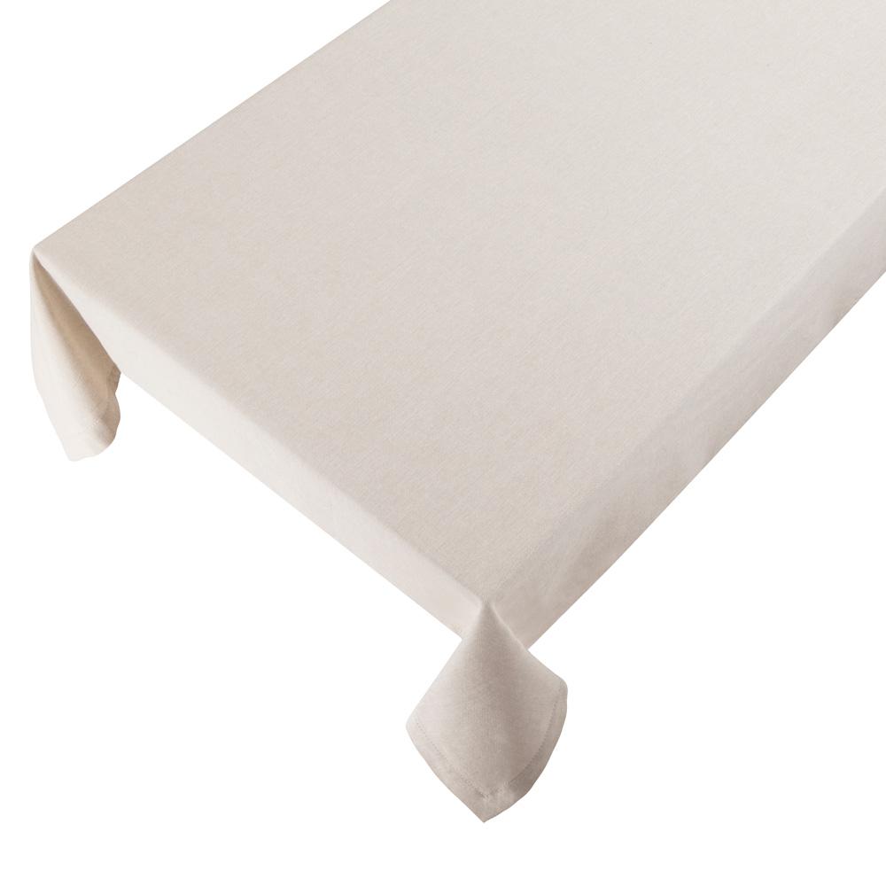 Bomuldsdug - Linen - Ivory - 140 x 250 cm