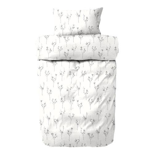 Rivoli sengetøj - Flonel - Grå