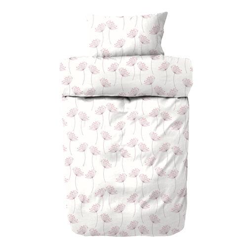 Ertiga sengetøj - Flonel - Rød