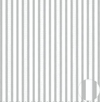 Jefco satin sengetøj - Grå - 140 x 220